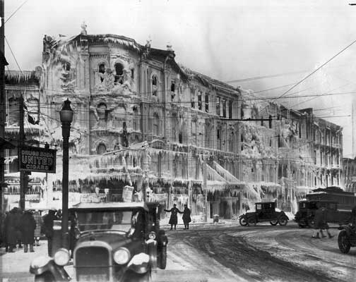 Hodge Opera House Burned 80 Years Ago This Month